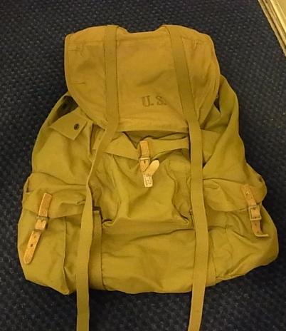 40'S U.S ARMY CANVAS BAG_c0144020_1347054.jpg
