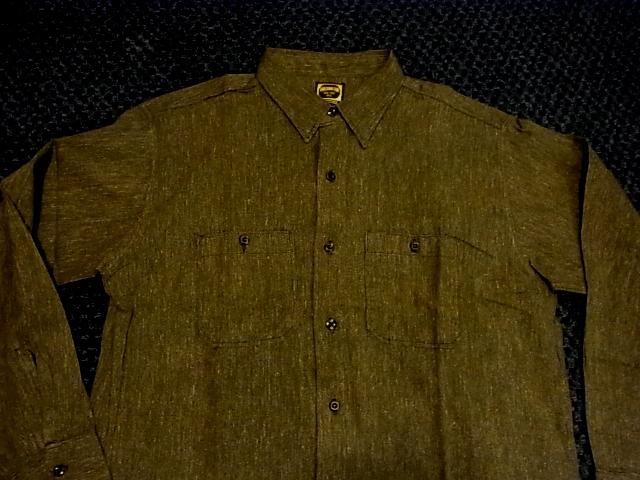 50'S ブラックシャンブレーシャツ デッドストック!_c0144020_1464281.jpg