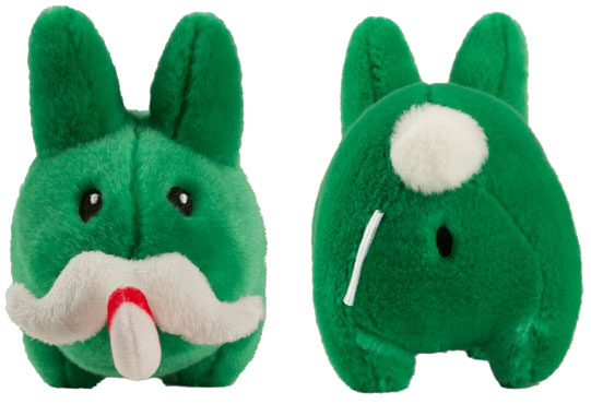 Candy Cane Labbit Plush 7-Inch by Kozik_e0118156_20321750.jpg