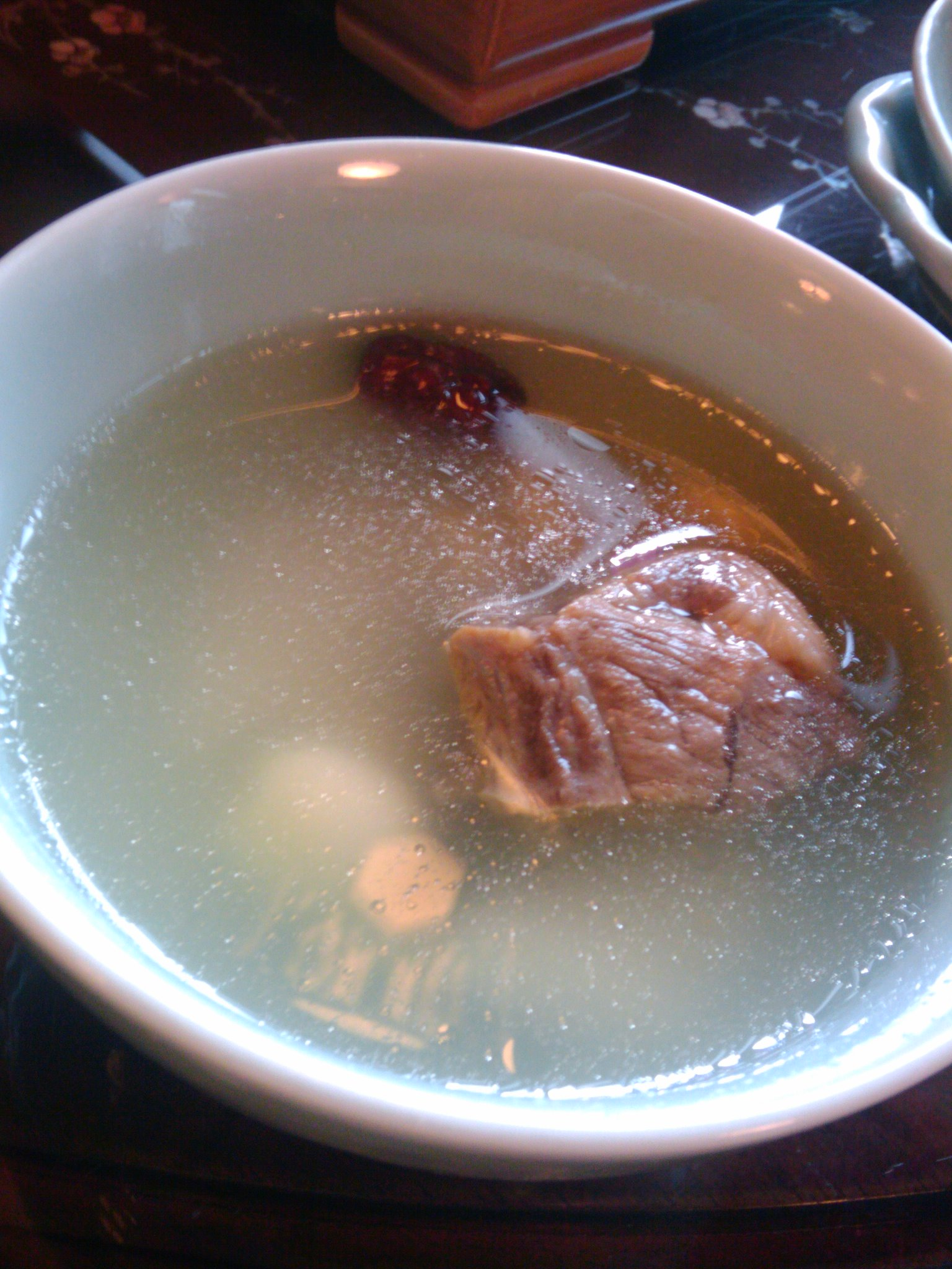 華泰茶荘にてビジネスランチ_e0123104_8545010.jpg