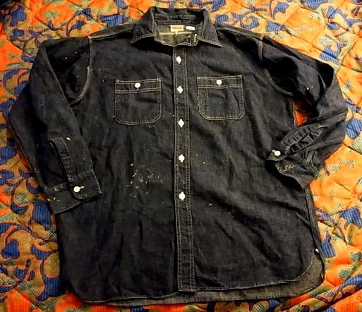40'S ヘラクレス デニムワークシャツ!_c0144020_1393396.jpg