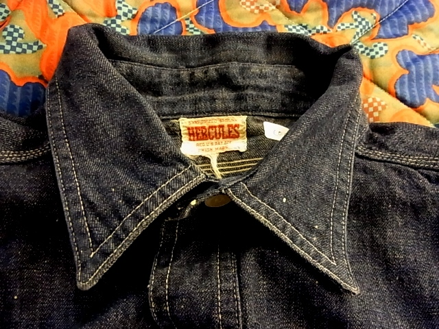 40'S ヘラクレス デニムワークシャツ!_c0144020_1394965.jpg