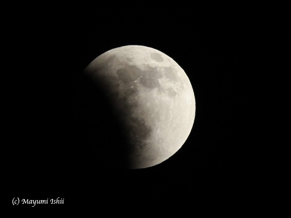 皆既月食 Moon eclipse 2011/12/10_a0086851_3303179.jpg