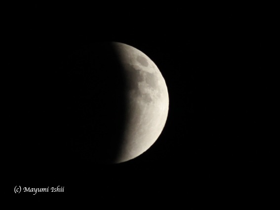 皆既月食 Moon eclipse 2011/12/10_a0086851_3304592.jpg