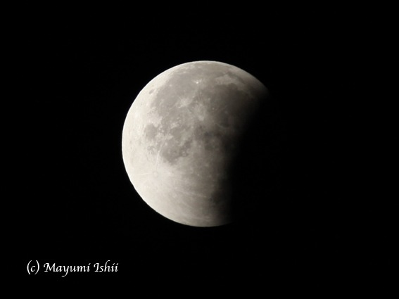 皆既月食 Moon eclipse 2011/12/10_a0086851_3322059.jpg