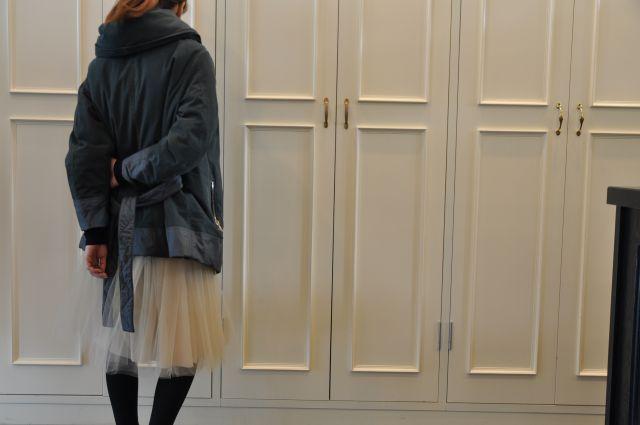 寒い日は ダウン ・ ・ ・ BACON_b0110586_2028513.jpg