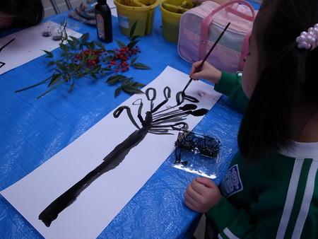 水墨画 <あべの教室>_f0215199_21565795.jpg