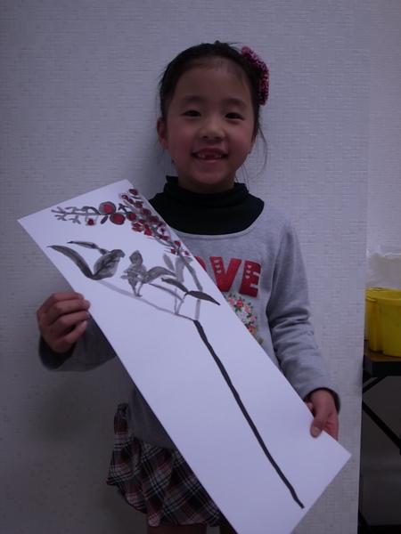 水墨画 <あべの教室>_f0215199_21572196.jpg