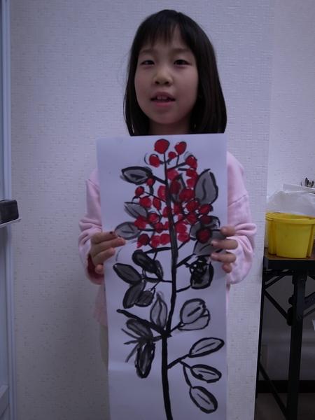 水墨画 <あべの教室>_f0215199_21572857.jpg