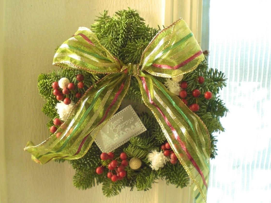 クリスマスリース!_c0207719_10584219.jpg