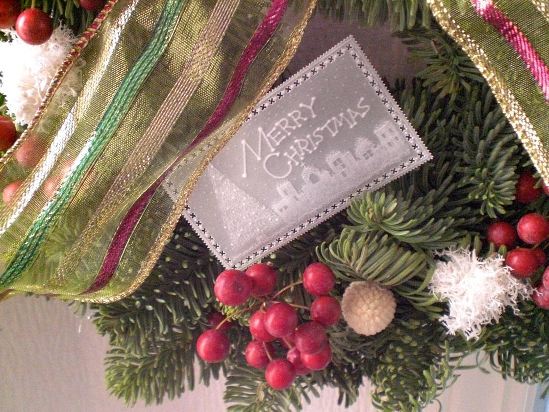 クリスマスリース!_c0207719_1059754.jpg