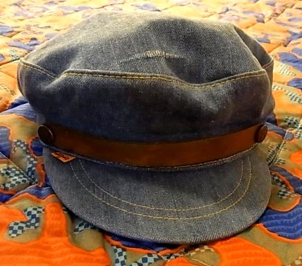 70'S リーバイス デニム CAP!_c0144020_12365741.jpg