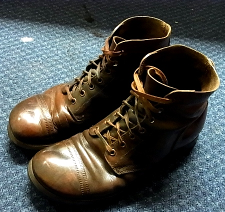 40'S MILITARY ブーツなど!_c0144020_1245826.jpg
