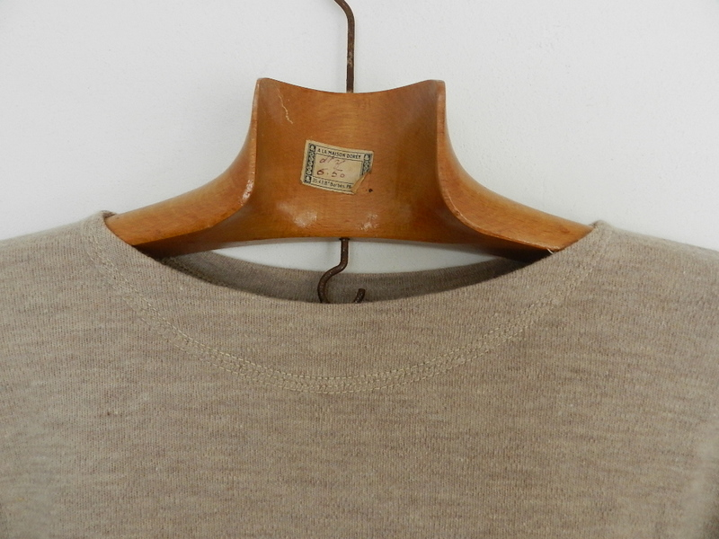 Italian army  late 50's~60\'s boat neck knit_f0226051_12183056.jpg