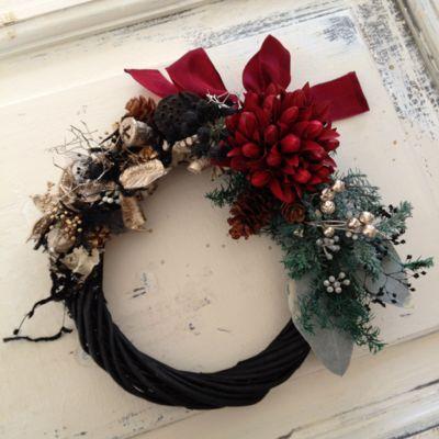 クリスマス&御正月リース_c0224659_2128046.jpg