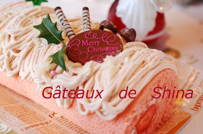 キッズクリスマスレッスン クリスマス・イチゴモンブランロール_f0224567_231636.jpg