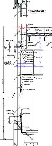 とある鉄骨3F建て病院の矩計図を作成中!_c0225122_21214442.jpg