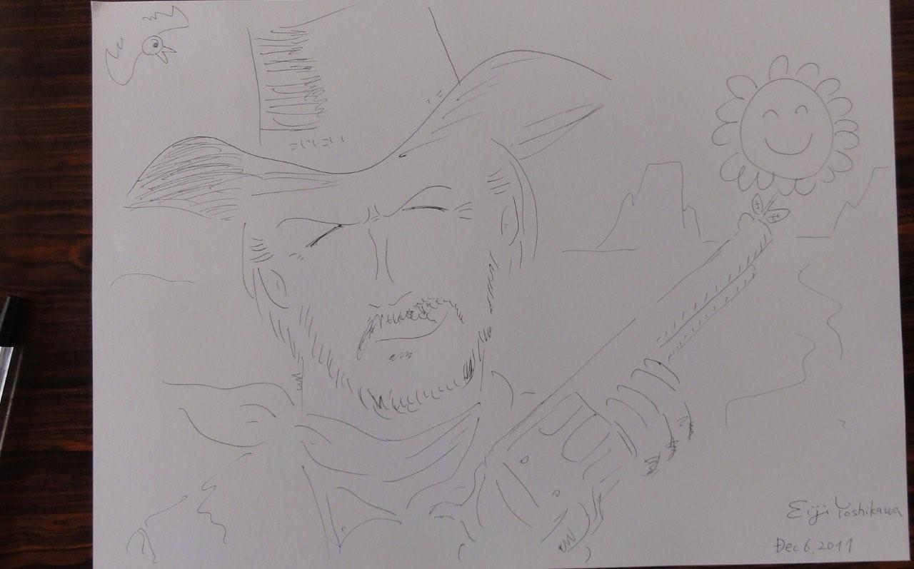Drawing Clint Eastwood_c0157558_9183991.jpg