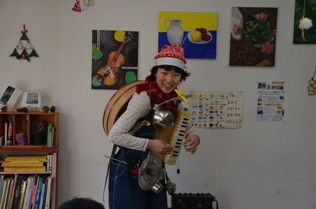 アトリエMIWA忘年会2011!!ふーちんライヴ大好評!!_c0131063_20145567.jpg