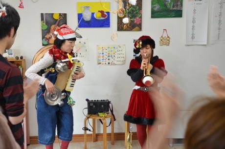 アトリエMIWA忘年会2011!!ふーちんライヴ大好評!!_c0131063_20163431.jpg