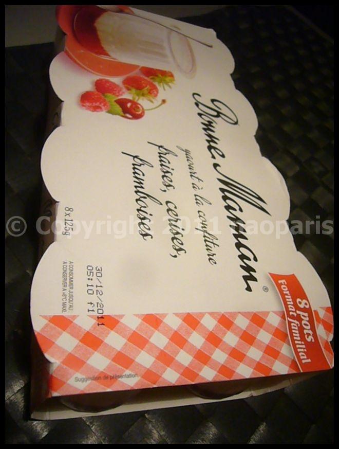 【Bonne Maman】要冷蔵シリーズ(PARIS)_a0014299_2221495.jpg