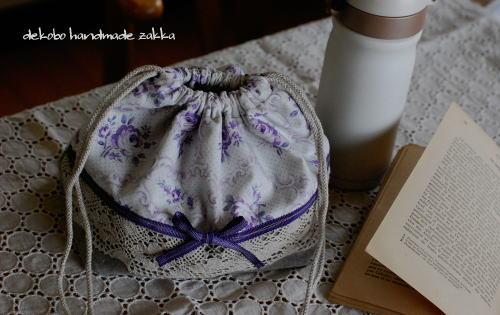 ママのお弁当袋と焼き芋_d0091671_15563213.jpg