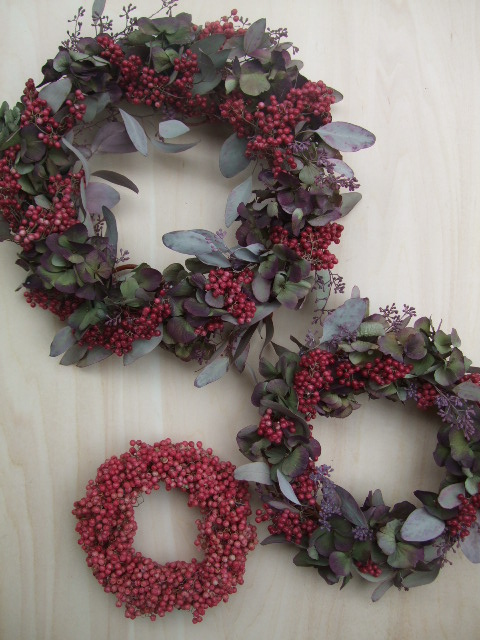 オークリーフ(今年のクリスマスリースⅢ)_f0049672_1314431.jpg