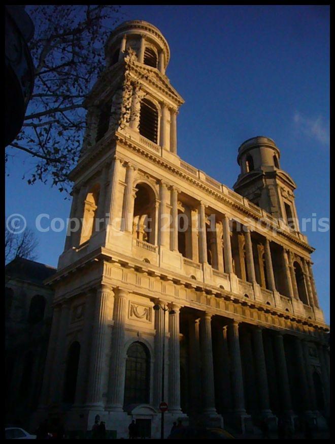 【PLACE ST-SULPICE】12月14日サンスルピス広場と教会(PARIS)_a0008105_2005763.jpg
