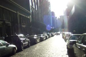 神々しさすら感じるニューヨークの冬の陽射し_b0007805_0193279.jpg
