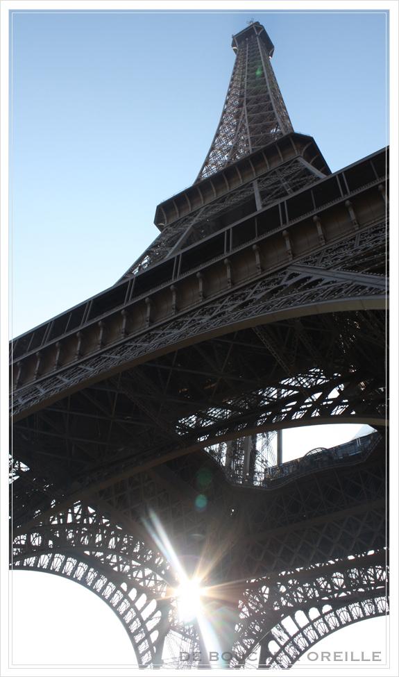 La tour Eiffel エッフェル塔_d0184921_18442418.jpg