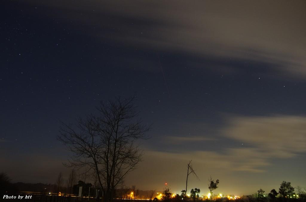 2011年12月14日 ふたご座流星群_f0148627_21383449.jpg