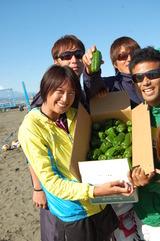神栖出身の女子ビーチバレー選手 保立沙織さん_f0229750_14393743.jpg