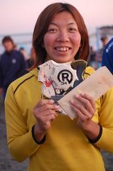 神栖出身の女子ビーチバレー選手 保立沙織さん_f0229750_14402759.jpg