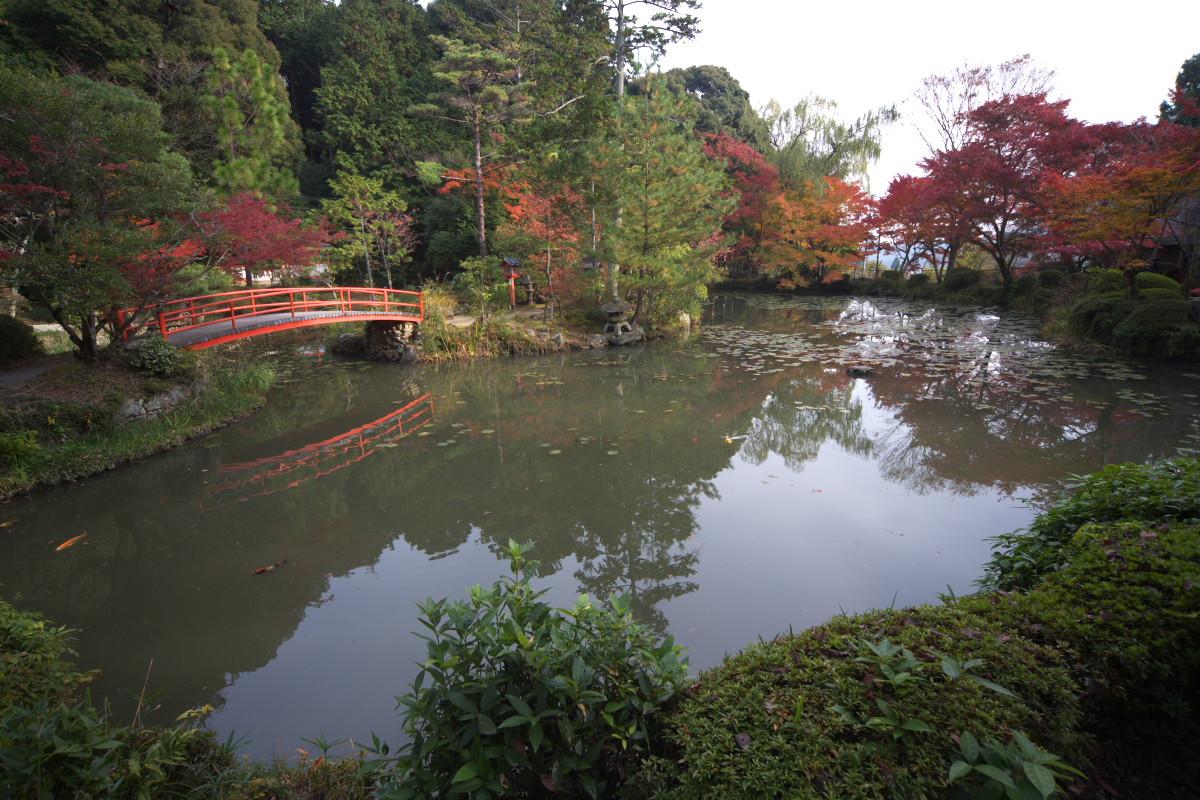 紅葉 2011 西山 大原野神社_f0021869_10475174.jpg