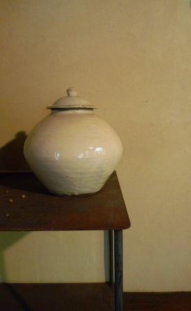 小鹿田の『らっきょう壺』_f0177373_2081437.jpg
