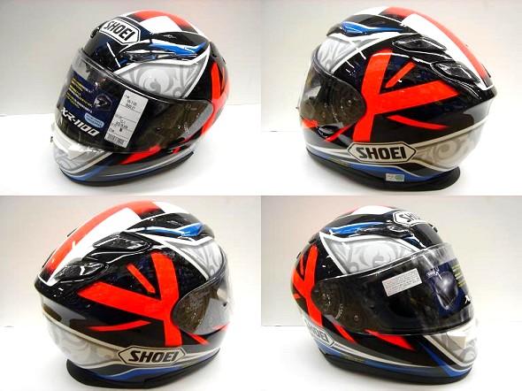 SHOEI・XR1100の新カラー「ブラッドリー」入荷!_b0163075_8394529.jpg