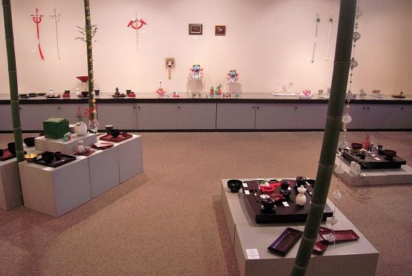 ギャラリーノア「お正月のしつらい展」 2011.12.15_c0213599_22584070.jpg