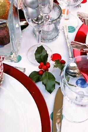 チキンにクランベリーソースとクリスマスツリーとプチパーティー_d0104926_6183130.jpg