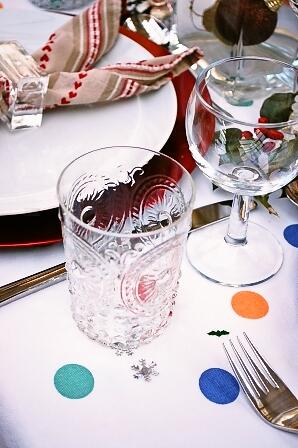 チキンにクランベリーソースとクリスマスツリーとプチパーティー_d0104926_6271938.jpg