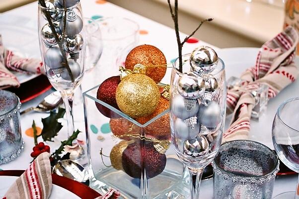 チキンにクランベリーソースとクリスマスツリーとプチパーティー_d0104926_628026.jpg
