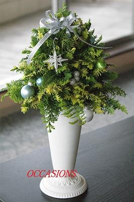クリスマスフラワーレッスン_e0158355_12451485.jpg