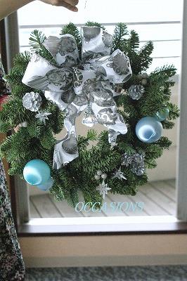 クリスマスフラワーレッスン_e0158355_1245392.jpg