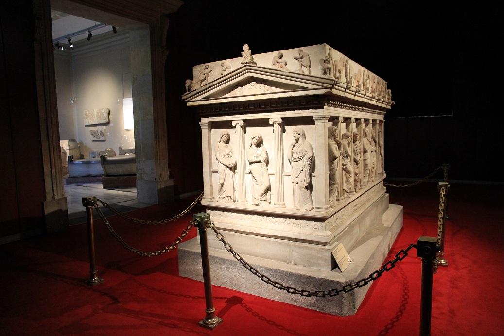 トルコ考古学博物館見学ガイダンス イスタンブール その17_a0107574_19444937.jpg