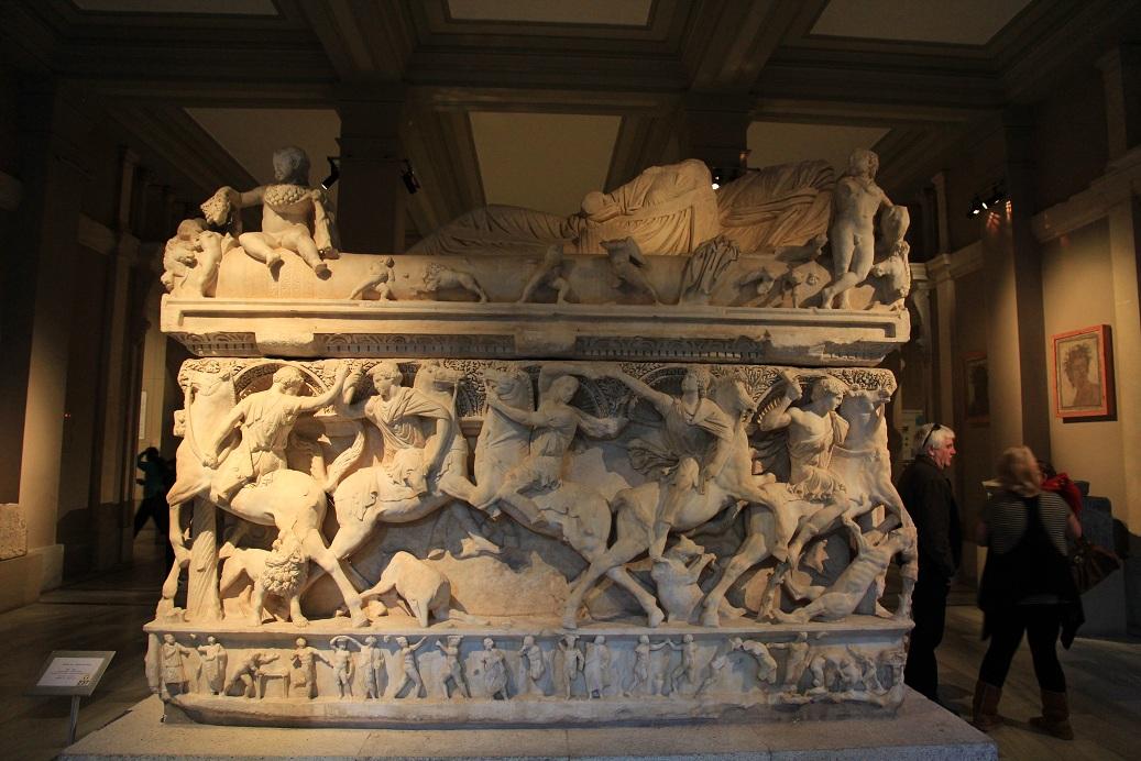 トルコ考古学博物館見学ガイダンス イスタンブール その17_a0107574_19454878.jpg