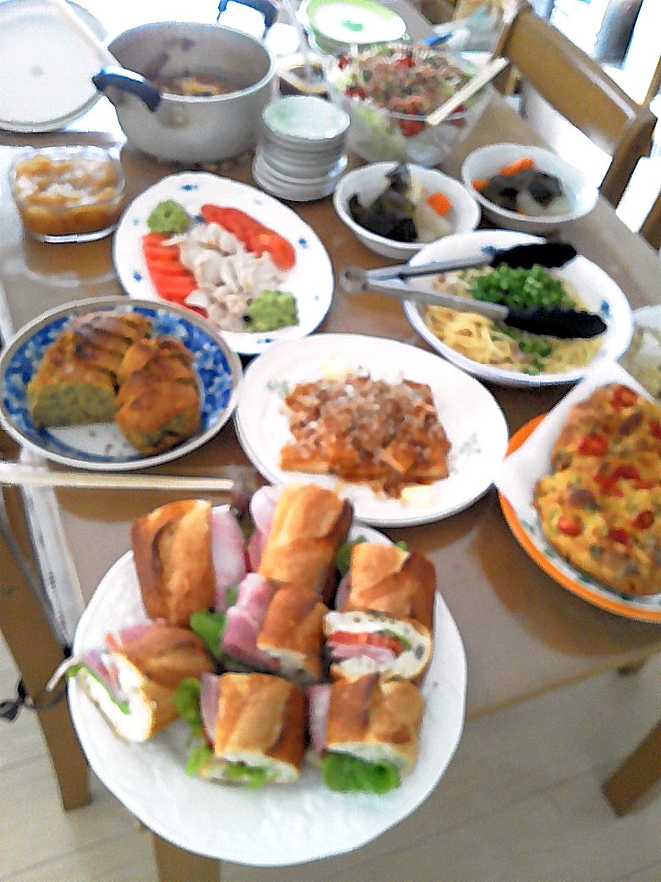 ホウレン草と豚のお弁当_b0171098_8222436.jpg