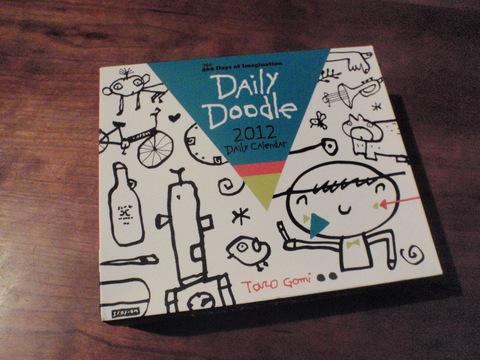 「2012年日めくりカレンダー」taro gomi (@Chronicle books)_f0064203_927054.jpg