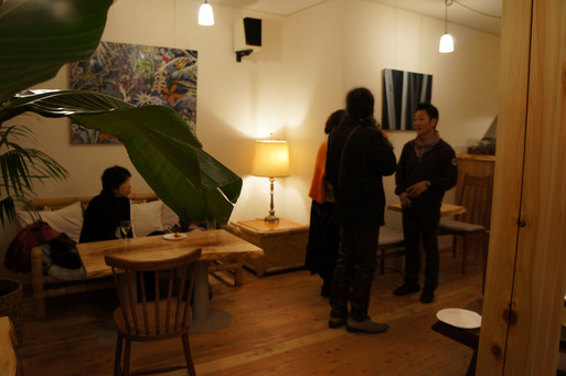 Gallery RokujianとKCCオープニングパーティOPENING PARTY_e0247444_2174729.jpg