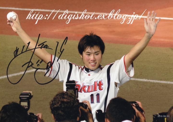 由規投手退団、由くんは当ブログを始めるきっかけとなった選手でした。思い出のフォト!_e0222575_2165753.jpg