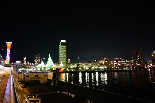 神戸港夜景