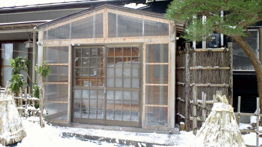 K様邸「鳳凰岱の家」冬囲い_f0150893_19174584.jpg